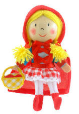 Red Riding Hood Finger Puppet Toy Childrens Stocking Filler Party Bag