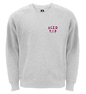 Acid Rap Sweatshirt Chance Rapper Jumper 3 Hip Hop Brandon Coloring Sweat Top