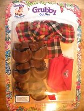 GRUBBY HIKING OUTFIT TEDDY RUXPIN BEAR FRIEND 1987 NOS NEW IN BOX VINTAGE TOY