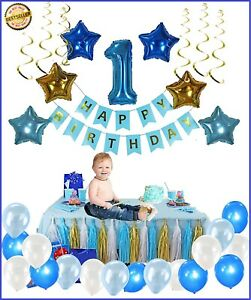 1st Birthday Party Decorations First Year Party Babies First Birthday Ebay