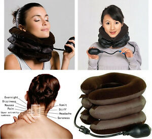 New-Adjustable-Neck-Stretcher-Pain-Relief-Tension-Back-Traction