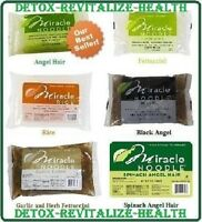 1 Miracle Noodle Shirataki Angel Hair, Fettuccini or Rice for Diet & Weight Loss