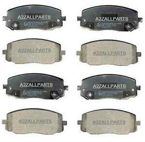 FOR-KIA-PICANTO-1-0-1-1-04-05-06-07-08-09-10-FRONT-REAR-BACK-BRAKE-PADS-SET