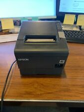 Epson Printer Tm T88v M244a Pre Owned With Power Cord And Ethernet Cable