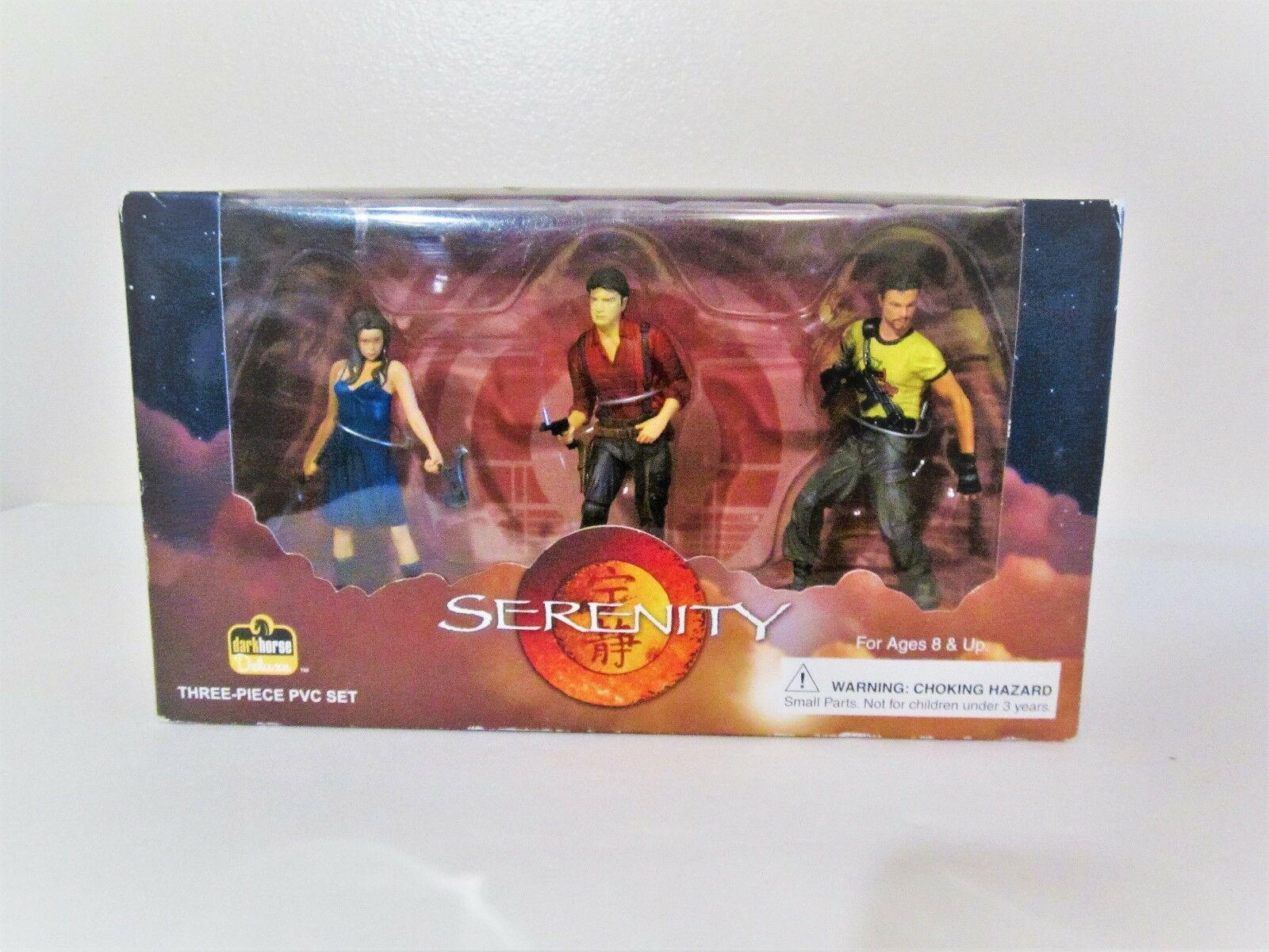Serenity 3 Piece PVC Set- Mal, Jayne, River - Firefly Action Figures Collectible