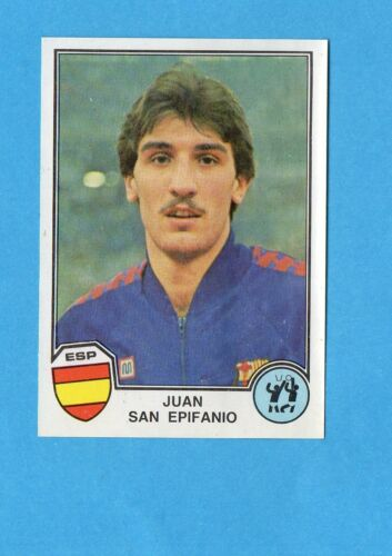 SAN EPIFANIO-SPAGNA-Rec SPORT SUPERSTARS//EURO FOOTBALL 82-PANINI-Figurina n.57