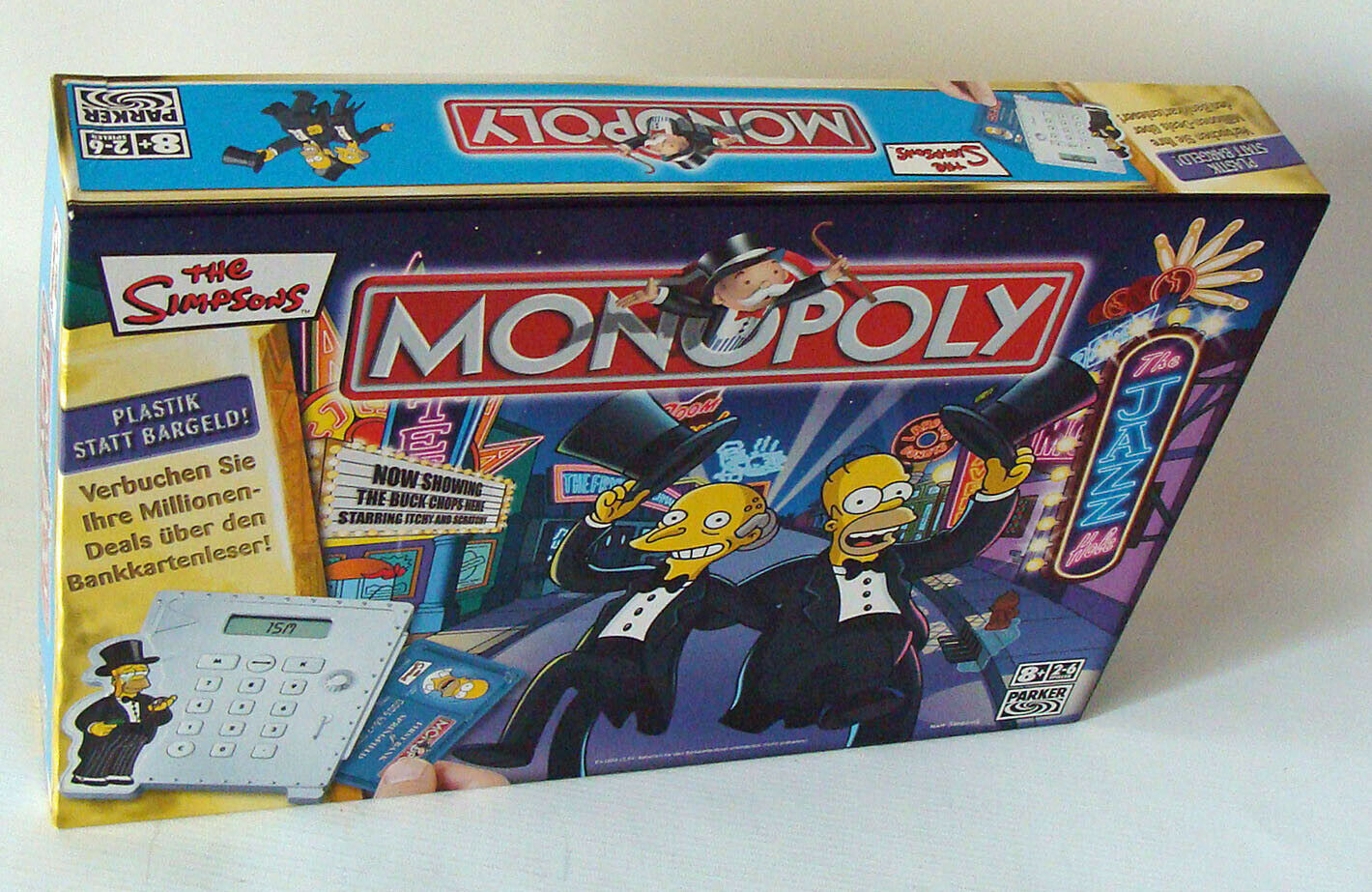 Monopoly The Simpsons para 2-6 jugadores Parker 8+ usado used