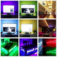 5050 RGB 5M SMD Flexible LED Strips Lights 150 LEDS NON-Waterproof DC12V DIY