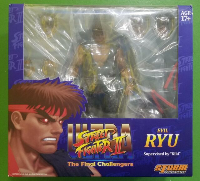 Storm Collectibles 1//12 Street Fighter II 2 Ultra Evil Ryu Nuevo