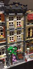 Lego Custom Modular Building. Tan Beige Town House. Like 10182, 10185