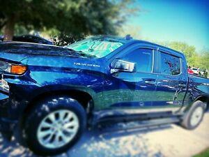 For-2019-2020-Chevy-Silverado-1500-CREW-CAB-Window-Visors-Rain-Guard