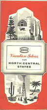 "1962 Sohio ""Vacation Ideas"" for North Central States Travel Booklet"