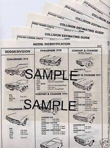 1982-1983-1984-1985-1986-1987-OLDSMOBILE-CUTLASS-CIERA-BODY-PART-CRASH-SHEETS