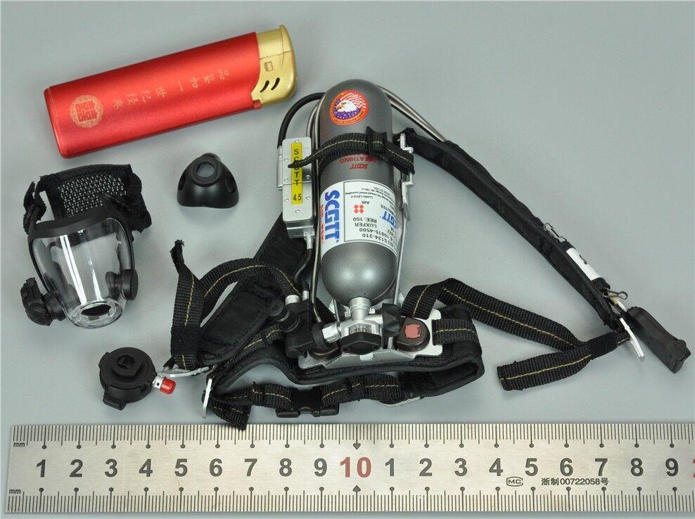 Sistema de paquete de aire & Juego de Máscara de gas para Dam 78050 blu Marino comandante en jefe 1 6 12