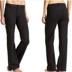 ATHLETA-Womens-PONTE-CLASSIC-ATHLETIC-PANT-Black-Straight-Leg-5-Pocket-Size-8