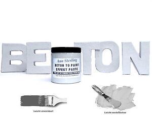 beton effekt paste effektfarbe 19 9 l struktur farbe. Black Bedroom Furniture Sets. Home Design Ideas