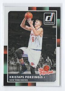 15-16-Donruss-The-Rookies-RC-32-Kristaps-Porzingis-New-York-Knicks
