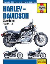 1970-2013 Harley Davidson Sportster XL 883 1200 REPAIR MANUAL