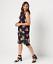 Susan-Graver-Regular-Liquid-Knit-Sleeveless-Tiered-Dress-Black-Floral-2X thumbnail 1