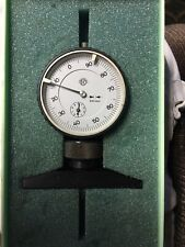 Abh Ehlers Dial Depth Gage 001mm Very Good Quality Made In The Uk Rare Vintage