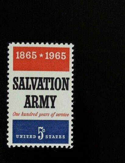 1965 5c Salvation Army, 100th Anniversary Scott 1267 Mi