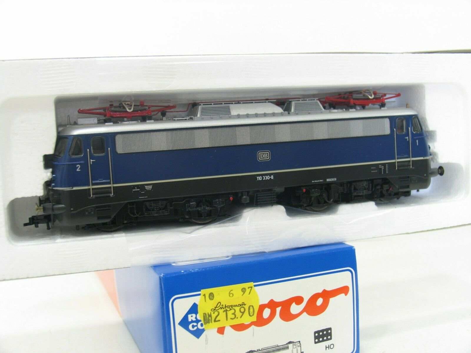 caliente Roco 43790 e-Lok br 110 330-8 330-8 330-8 azul de la DB do252  gran selección y entrega rápida