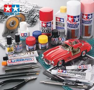NEW-TAMIYA-Acrylic-amp-Enamel-LP-Model-Kit-Paint-Thinner-Panel-Line-Tools-Various
