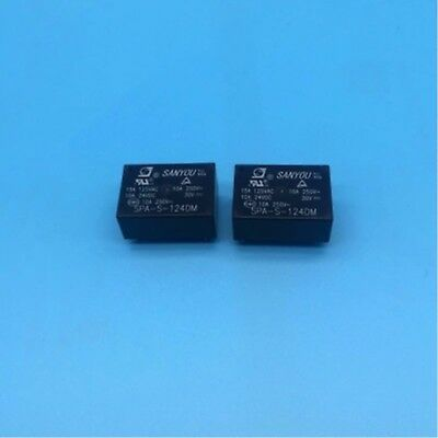 1PC Sanyou Relay SPA-S-124DM 24VDC 10A250VAC HF7520