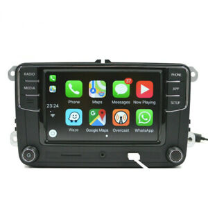 Details about Volkswagen VW Head Unit CarPlay Android Auto Mirrorlink RCD330