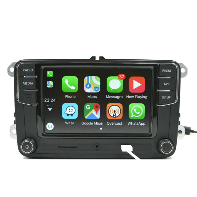 New Original Genuine Volkswagen VW Head Unit CarPlay Mirrorlink RCD330