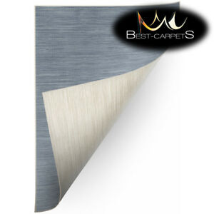 SISAL-RUG-039-double-039-PRACTICAL-double-sided-blue-beige-Carpet-FlatWeave-Easy-Clean