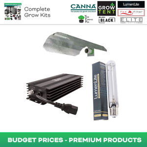 Lumii Black 600w Digital Lighting Kit Hydroponics Grow Light HPS