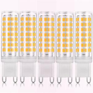 Bonlux 6w Dimmable G9 Led Bulb 88pcs 2835 Smd Leds Light Bulb 5 Pack