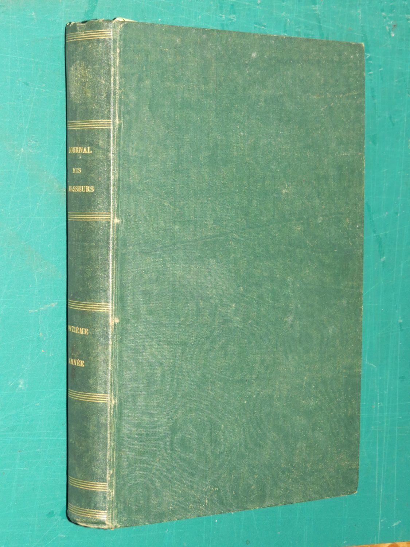 Journal des chasseurs année1846-47 + l'hippodrome annales des courses 1845-1850
