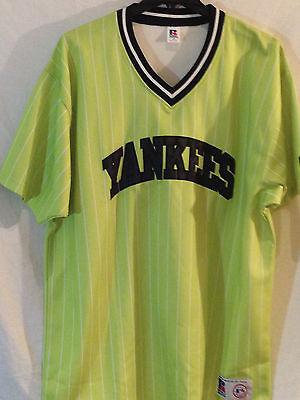 Unparteiisch New York Yankees Jersey-mlb Russell Athletic Bronx Bomber Fashion-xxl-home Run Gute Begleiter FüR Kinder Sowie Erwachsene Baseball & Softball