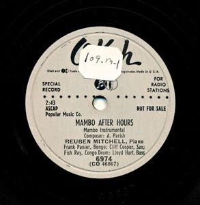 REUBEN-MITCHELL-on-1953-Okeh-6974-Mambo-After-Hours-Tropical-Blues