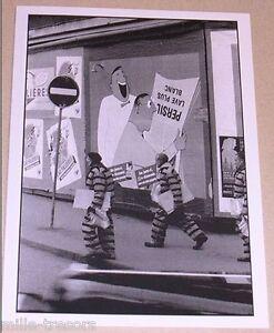 Carte-Postale-Photo-Frank-HORVAT-PARIS-Affiches-1955-PERSIL-lave-plus-blanc
