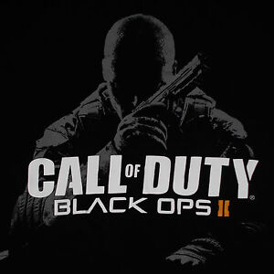 Call Of Duty Black Ops 2 T Shirt Medium Video Game Cover Art