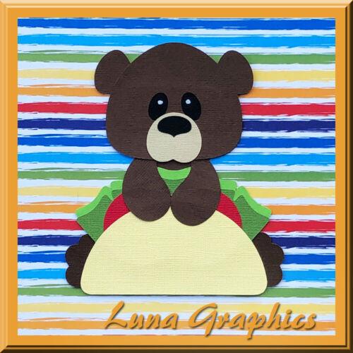 TACO BEAR Embellishment card making /& scrapbooking