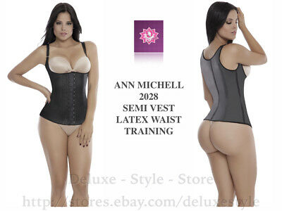 NEOPRENE FAJA PARA MUJER WOMEN VEST WAIST TRAINER WORKOUT GIRDLE ANN SLIM