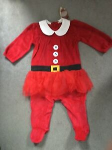 67d74f26cec CHRISTMAS OUTFIT IN RED VELVET BODYSUIT WITH NET SKIRT   BLACK BELT ...