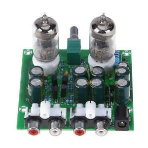 6J1-HIFI-STEREO-ELECTRONIC-Tube-Preamplifier-board-fini-Preampli-Amplifer