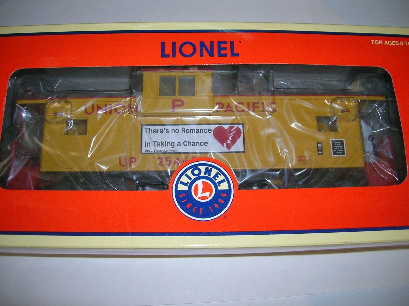 LIONEL 6-29716   UNION PACIFIC EXT.VIS. CABOOSE    NEW SEALED  LOT   15989