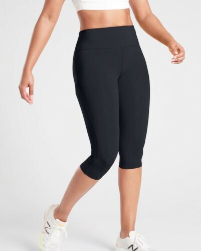 Details about  /New With Tags Athleta Ultimate Stash Pocket Crop Black Size XS