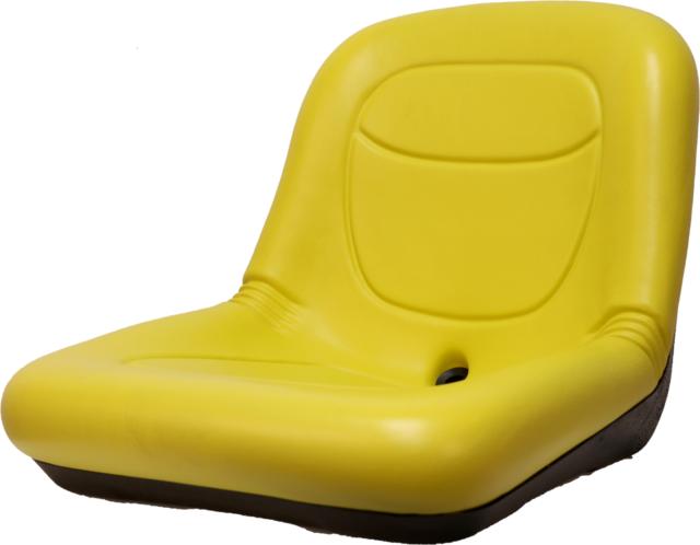 John Deere Lawn Mower Seat Yellow LT133 LT150 LT155 LT160 LT166 LT170 LT180
