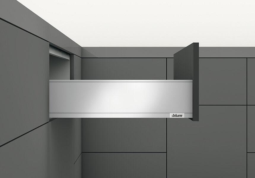 Blaum Set LEGRABOX pure K BlauMOTION NL=300mm 40kg oriongrau matt