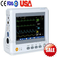 Vital Signs Monitor Portable Patient Monitor 6parameter Ecg Nibp Spo2 Machine Us