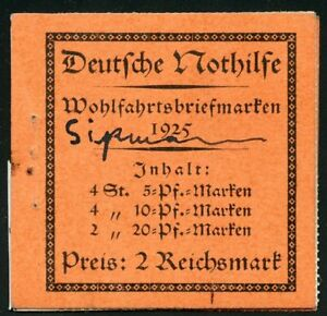 GERMANY-EXPLODED-BOOKLET-MICHEL-MH18b-CONTAINGS-MHBL-41-42-amp-44-SC-B12a-14b-NH