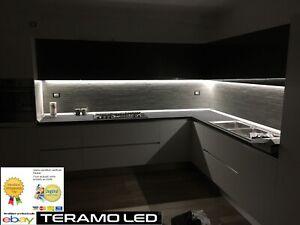 Dettagli su Barra Led Sottopensile Cucina Dimmerabile Touch Su Misura alta  luminosità 50/50