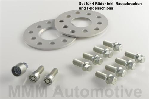 H/&r Abe ensanchamiento 10//24 mm Set VW Passat tipo 3c pista placas